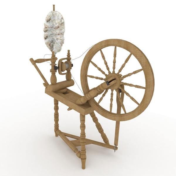wheel spinning 3d max