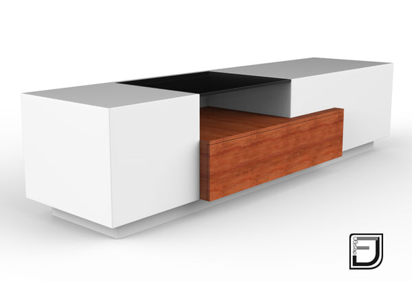 tv stand 3 3ds