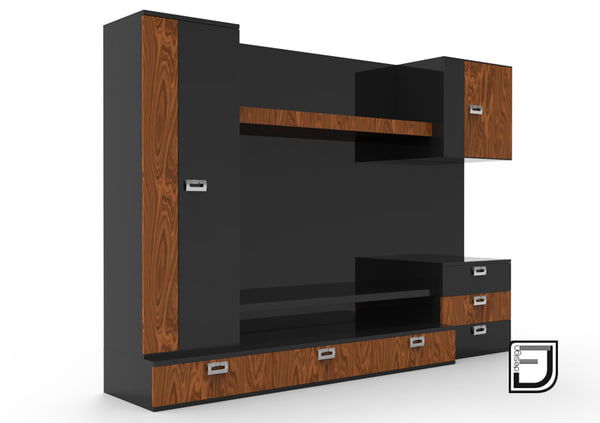 3ds tv stand 9