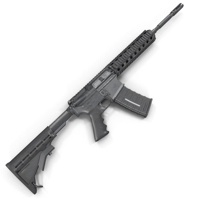 3d assault rifle generic 4