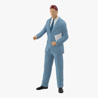 Miniature Business Man 03