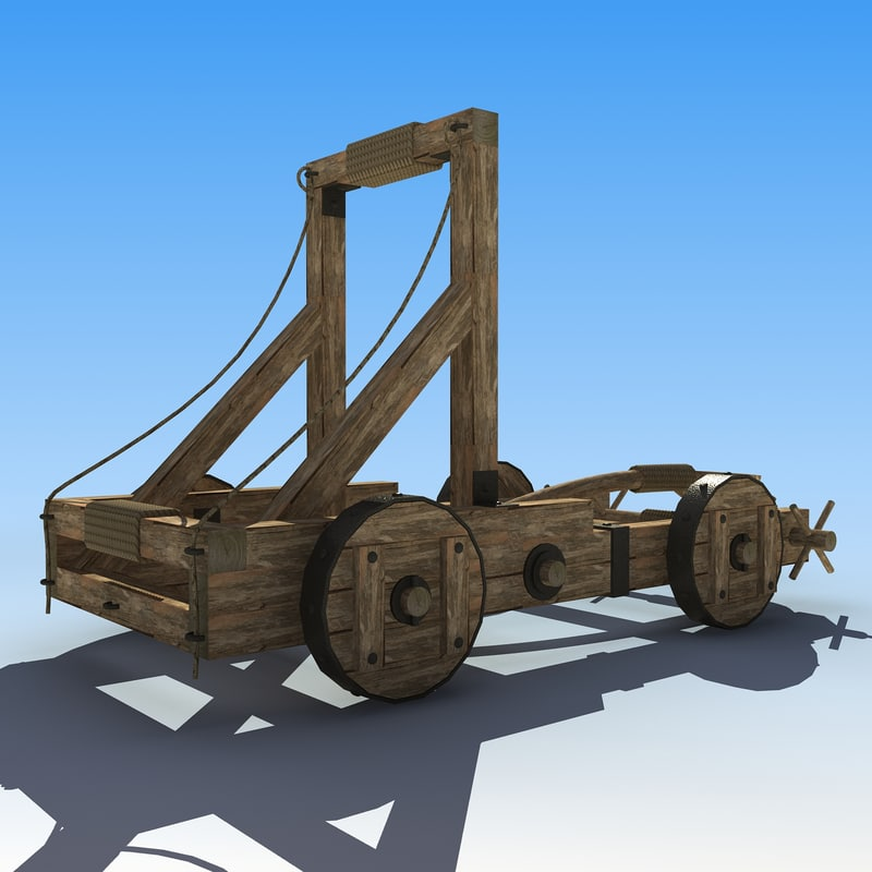 3d siege catapults