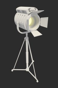 3ds max mobile spotlight light