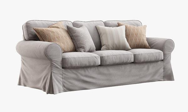 3d ikea ektorp sofa model