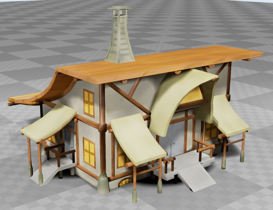 3ds max fantasy house