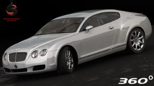 3d model bentley continental gt 2004