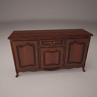 hall cabinet 3d model