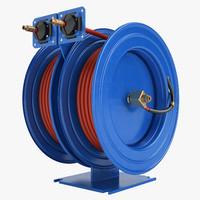 3d model hose reel