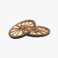 obj wagon wheel