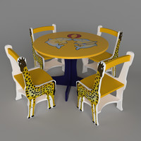 3dsmax table children child