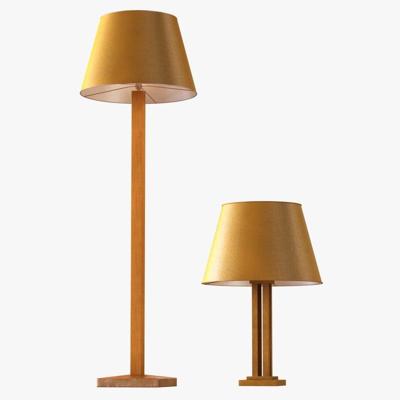 lamps jean michel frank fbx