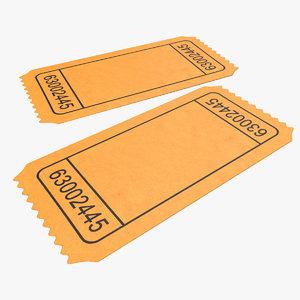 max blank movie ticket