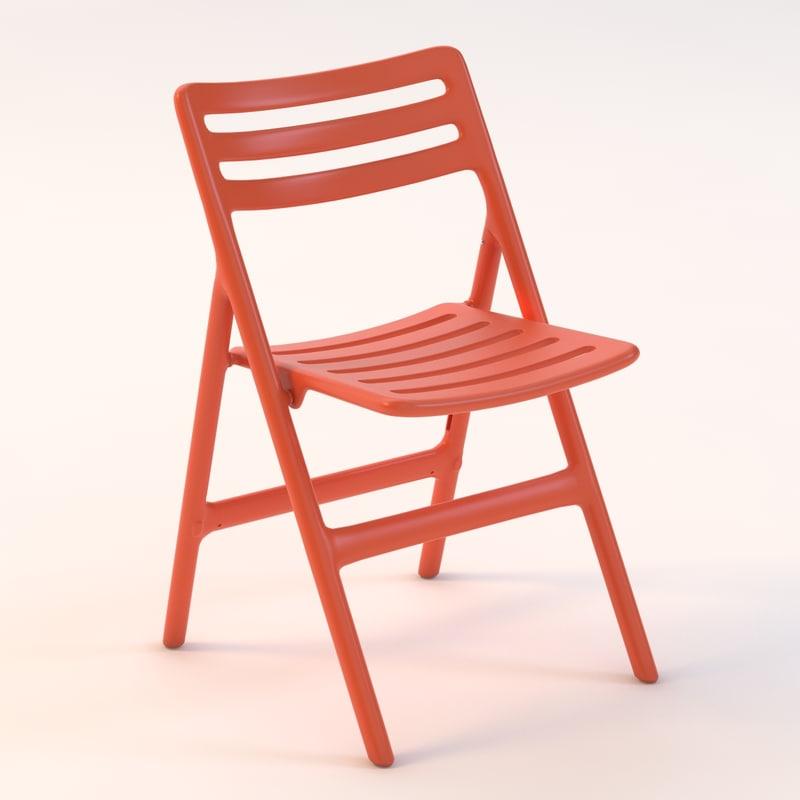 3ds folding air chair
