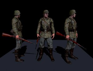 ss soldier max