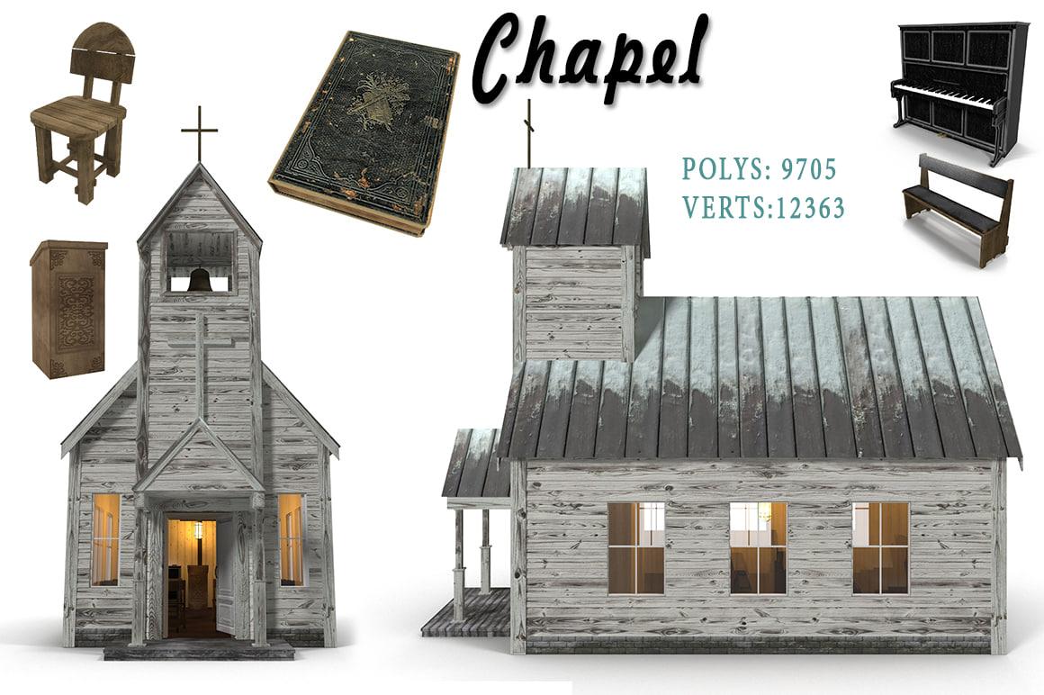 3d chapel