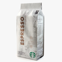 3d model of starbucks coffee packaging