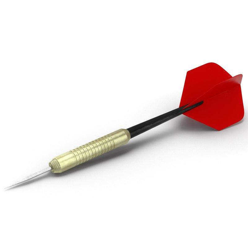dart needle modeled max