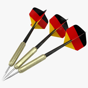 max dart needle germany modeled