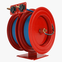 Fire Hose Reel 3 Red