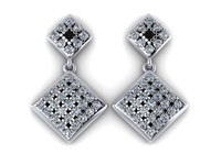 diamond earring 3d model