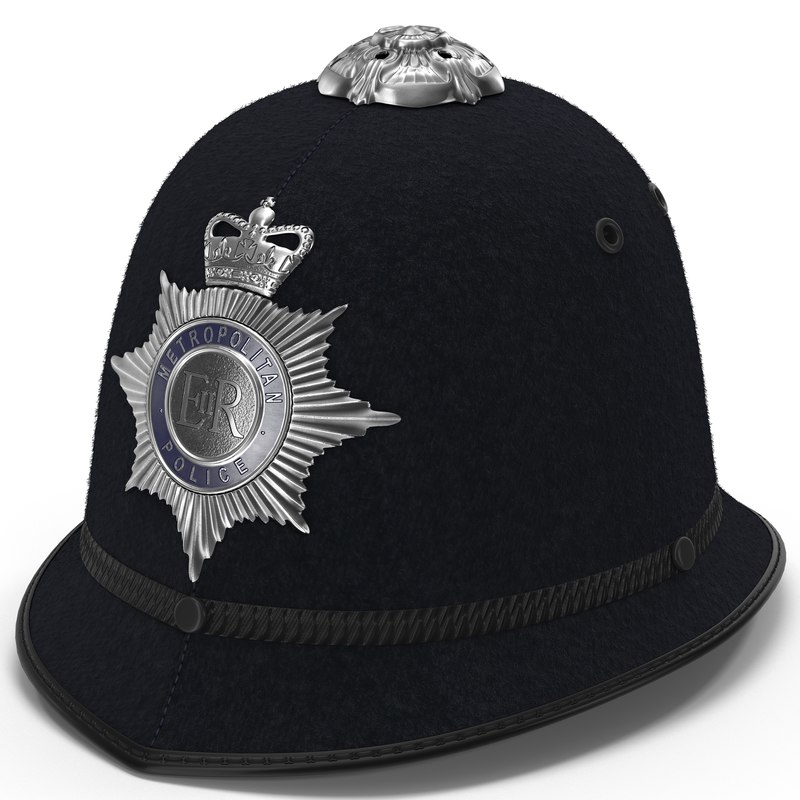 london metropolitan police custodian 3d model