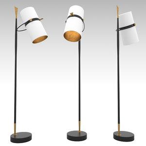 yasmin floor lamp 3d model