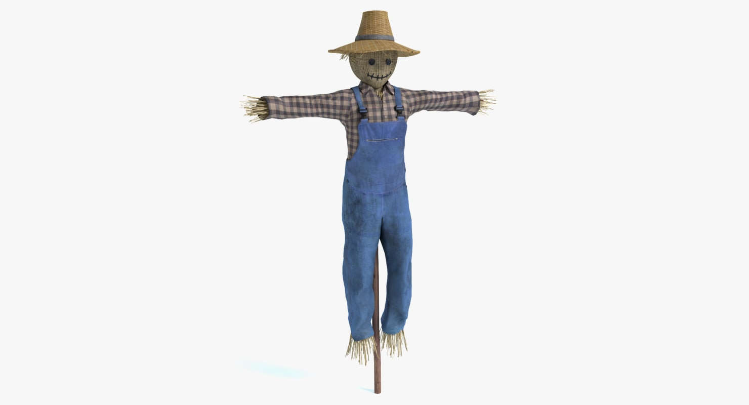 scarecrow scare crow 3ds