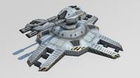 3ds max turret sci-fi