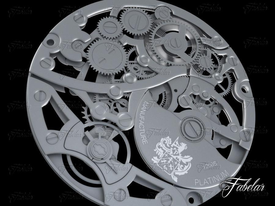 3ds max watch mechanism