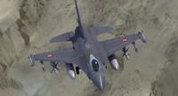 3d f16 falcon turkish model