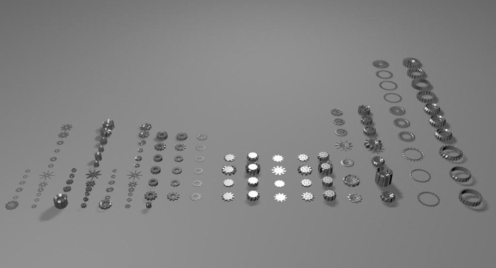 cog 127 component 3d model