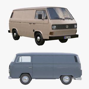 transporter van 3d model