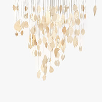 3d chandelier clouds model