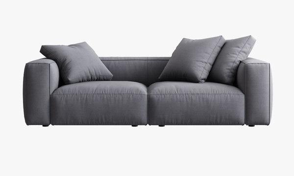 3d model ligne roset nils sofa