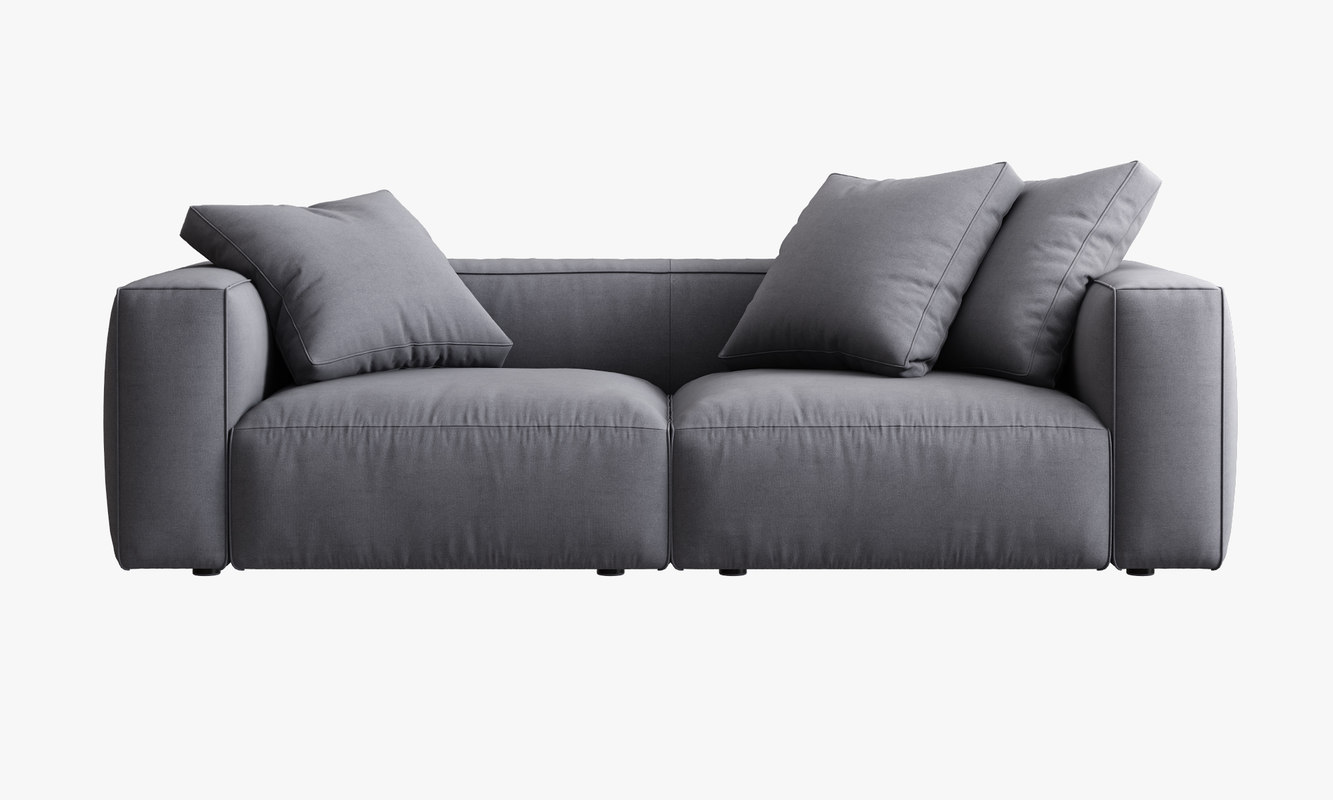 3d Model Ligne Roset Nils Sofa