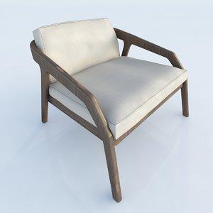 usona chair 3d model