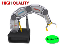 3d model robotic arm