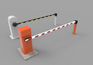 3d max parking barrier