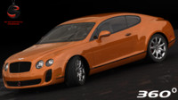 dwg bentley continental supersports 2010