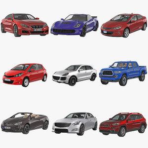 generic cars 3d model