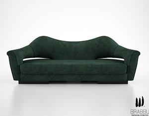 brabbu nau sofa 3d obj