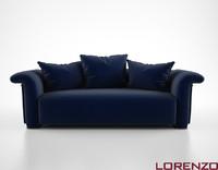 3d lorenzo tondelli ali sofa model