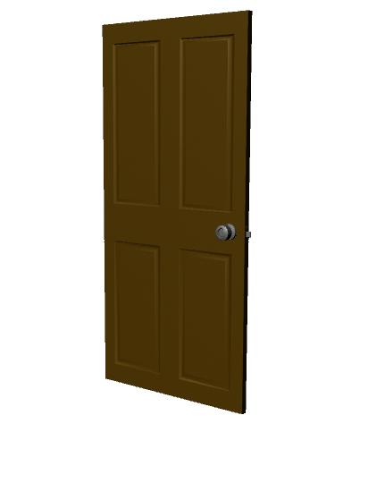 basic door handle obj free