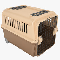 3d model of mobile pet carrier
