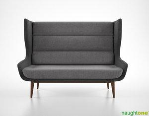 max naughtone hush sofa