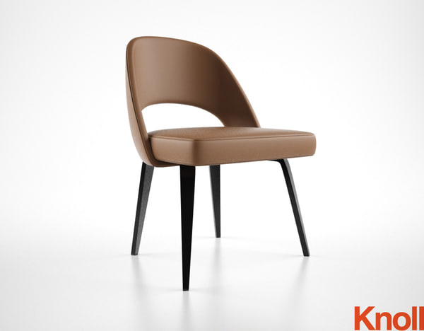 3ds max knoll saarinen chair