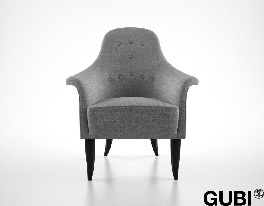 3d gubi paradiset chair