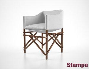 stampa cadeira ripiego chair max