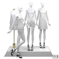 3d max showroom fashion