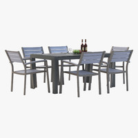 3d model marvelous outdoor dining